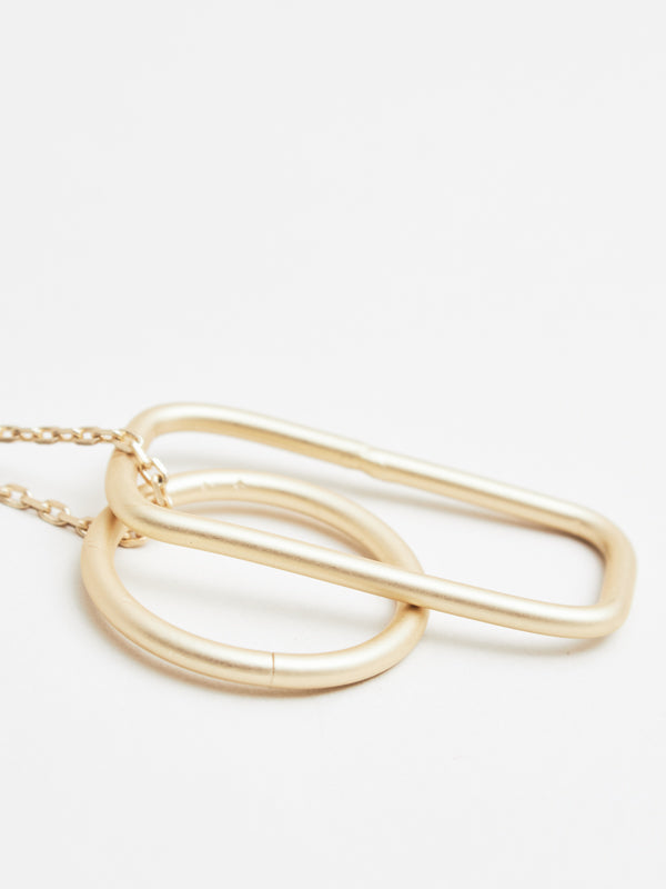 Aster Necklace Gold