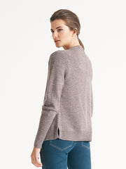 Cresent Knit Chocolate Marle