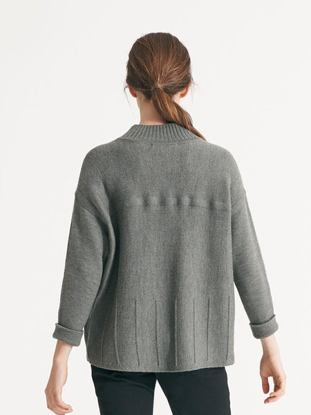 Salvadore knit sage