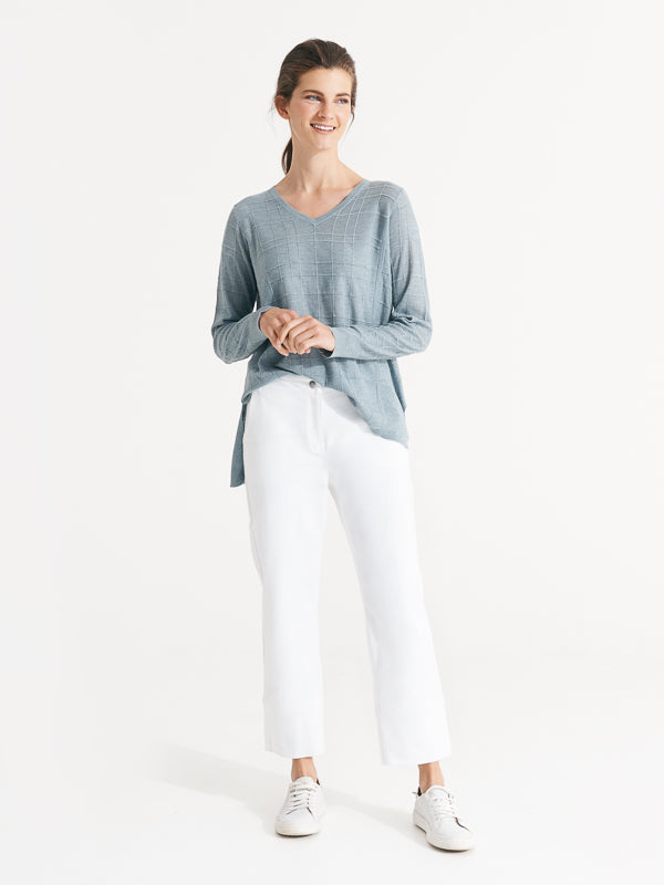 Hudson Pant Optical White