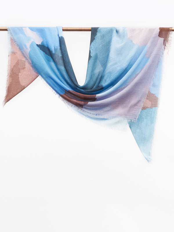 Saguenay Scarf Denim Blue