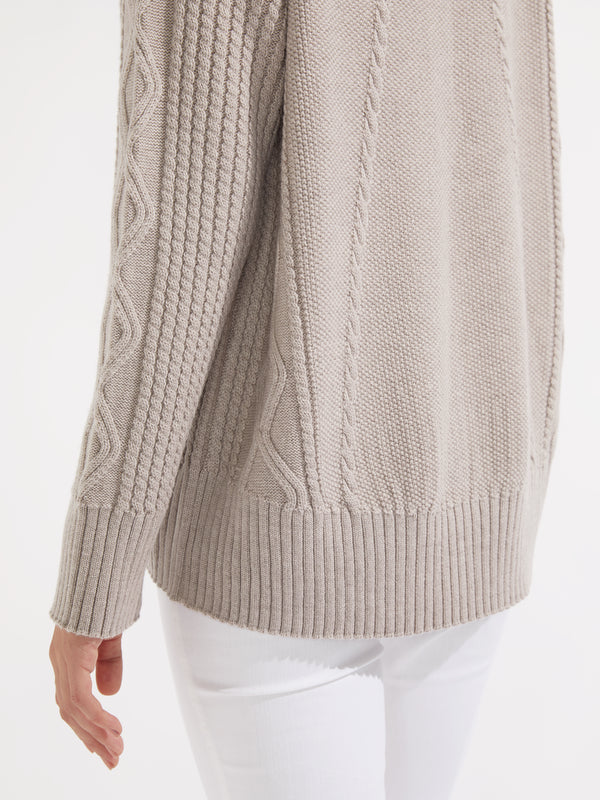 Finlay knit oatmeal