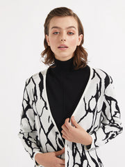 Lozano Knit Ivory/Black