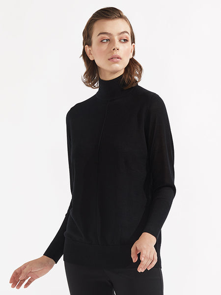 Nile knit black