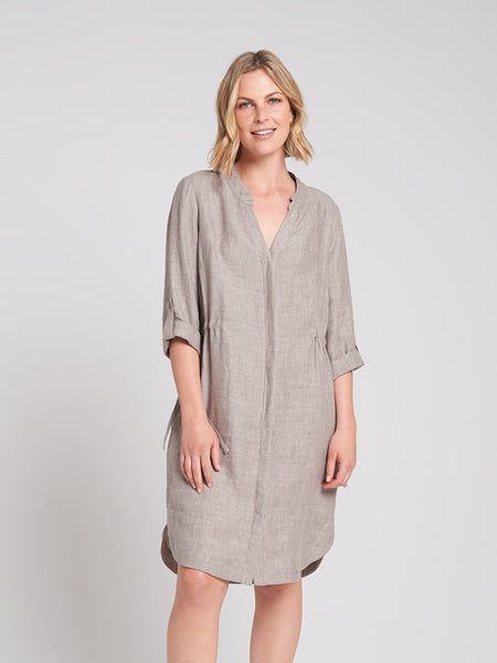 Hannah Dress Taupe