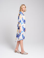 Elira Dress Mosaic Print
