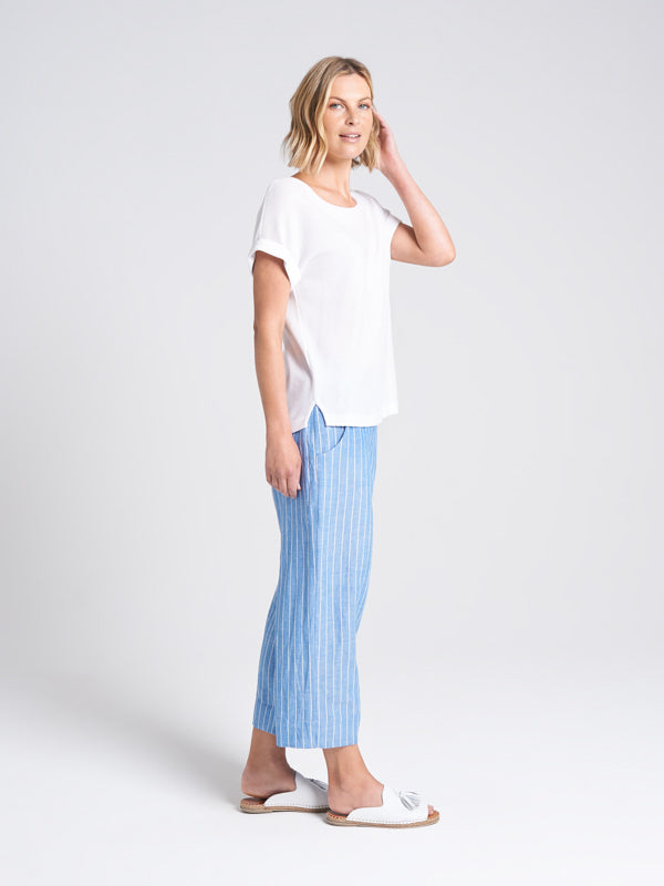 Catania Pant Chambray Stripe