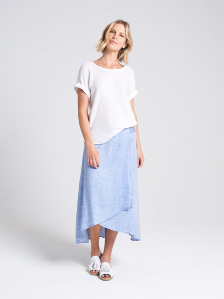 Meredith Skirt Sea Breeze