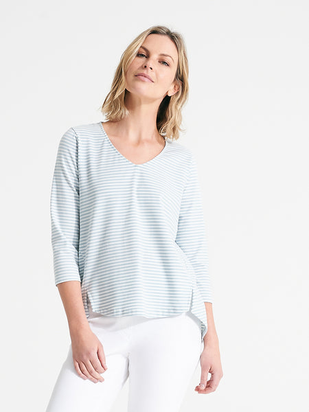 Mira Tee cloud stripe