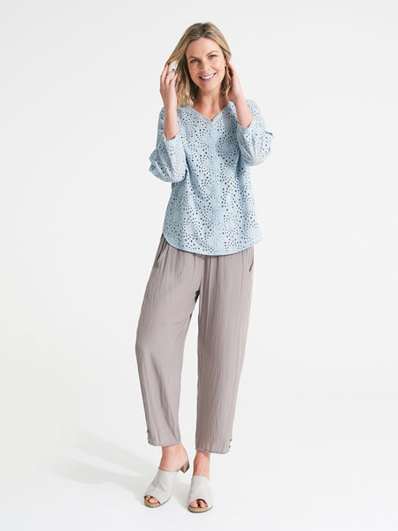 Whisper pant taupe