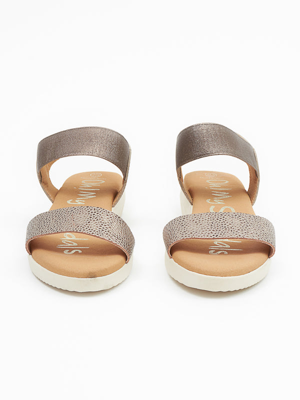 Willow sandal silver