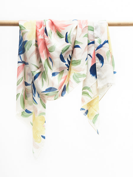 Rosa scarf lemon