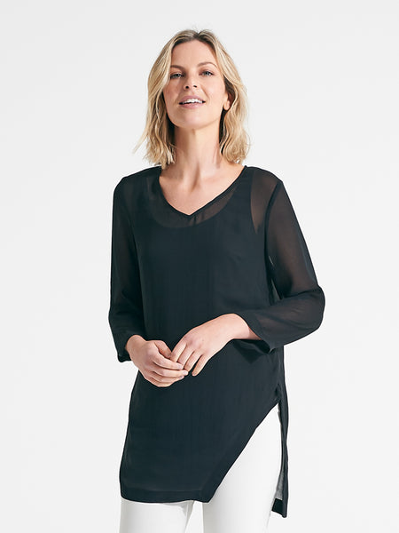 Tia Tunic black