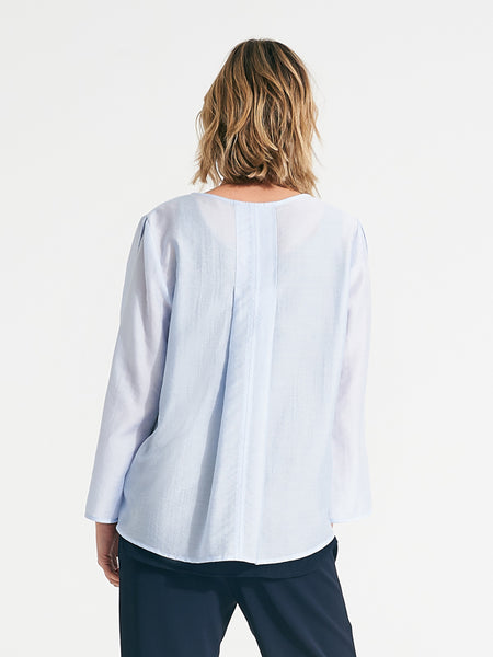 Sadie top chambray
