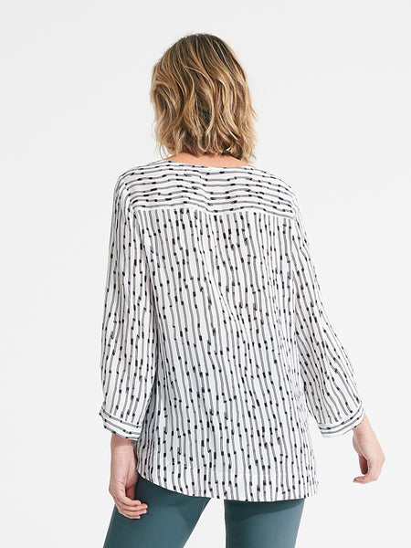 Luna Top wire print