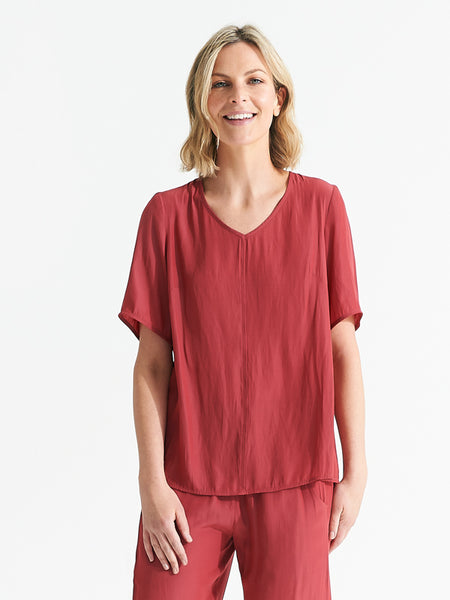 Sahara top cherry