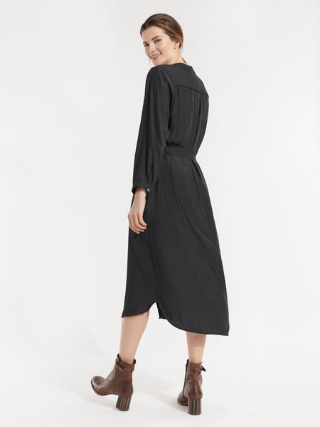 Hampton dress licorice