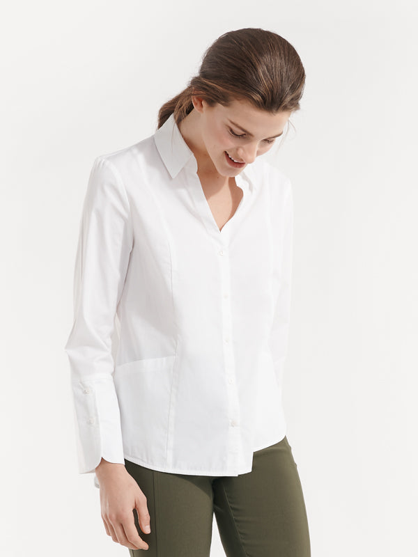 Margot Shirt White