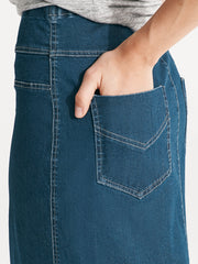 Denim Skirt Denim