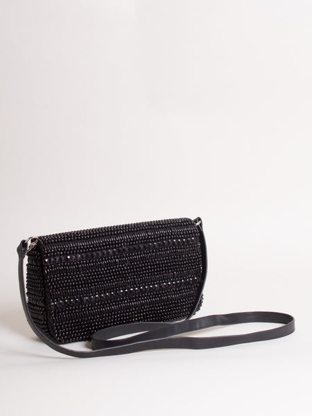 Veronica Clutch Black
