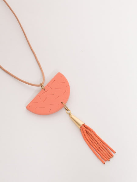 Sophia Necklace Gold/Punch