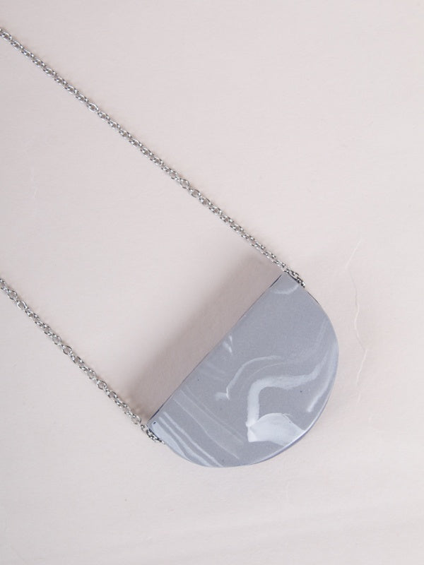 Merry Necklace Blue/Grey