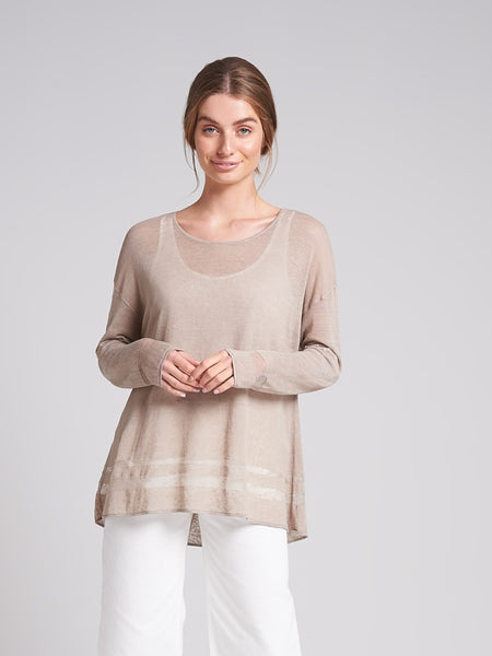 Linnea Knit Almond