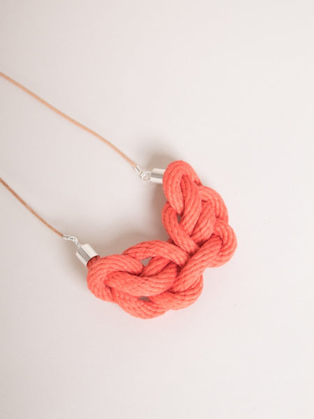 Cove Necklace Coral