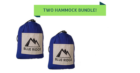 2 Hammocks and 2 Sets of Slap Straps Bundle