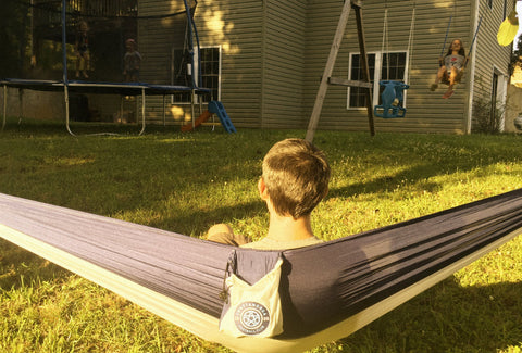 Officially Licensed Chattanooga FC Hammock (Navy/White)