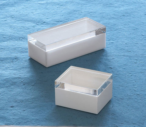 White Cubicle Boxes