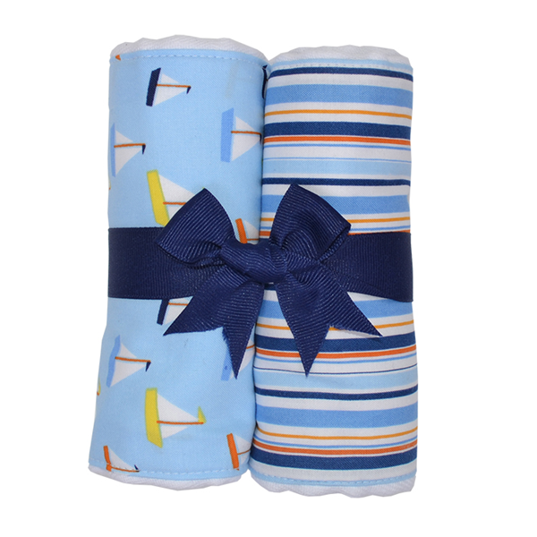 Anchors Away Burp Pads (Set of 2)