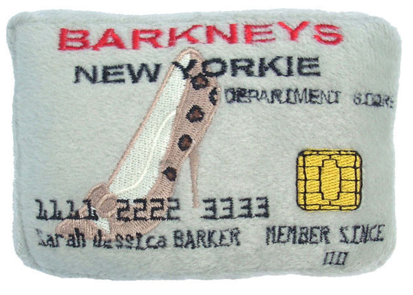 Barkney's Credit Card