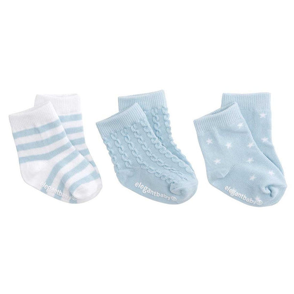 Baby Boy's First Socks (3 pack)