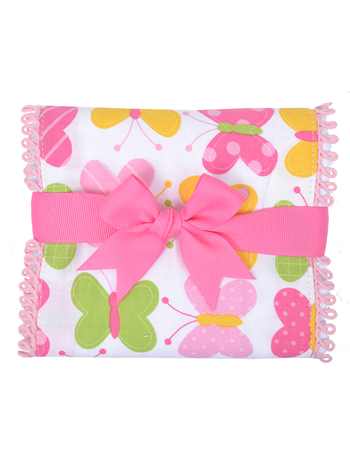 Butterfly Kisses Burp Pad