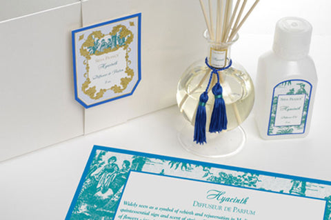 Hyacinth Classic Toile Diffuser Set