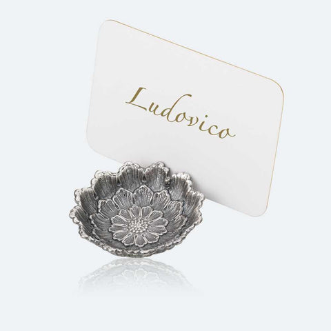 Dahlia Place Card Holder