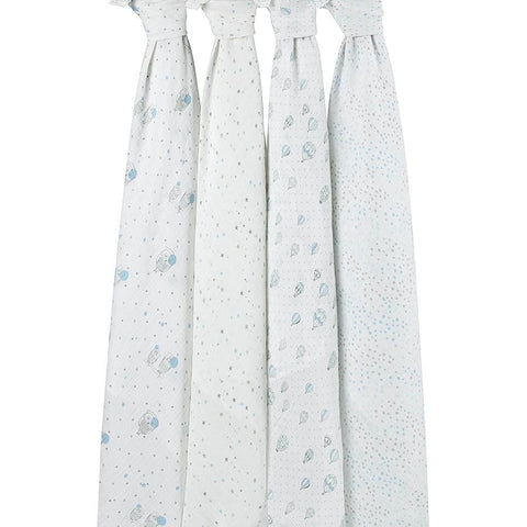 Night Sky 4-Pack Classic Swaddles