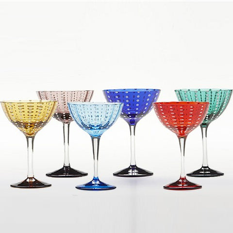 Perle Cocktail Glasses, Set of 6
