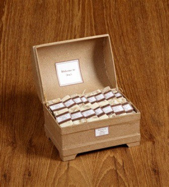 "Personalized Individual Guest Soaps, Classic ""Medium"" Box"