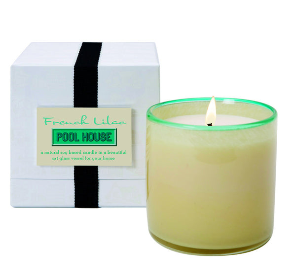 Pool House Candle: FRENCH LILAC