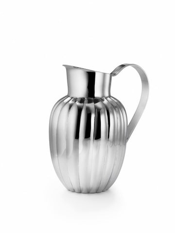 Silhouette Scalloped Pitcher