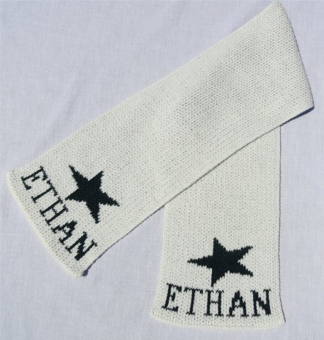 Star Personalized Scarf (Children's)