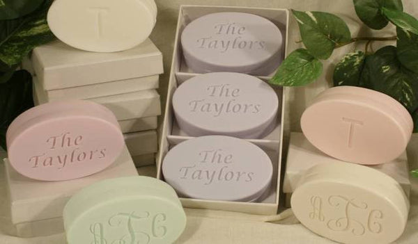 """Spa Collection"" Personalized Soap Set, 3 Bars"