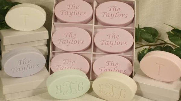 """Spa Collection"" Personalized Soap Set, 6 Bars"