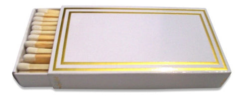 Gold Frame Matchboxes, Set of 2
