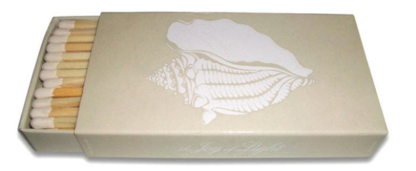 Conch Shell Matchboxes, Set of 2