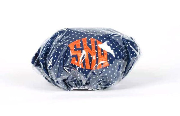 Monogrammed Shower Cap