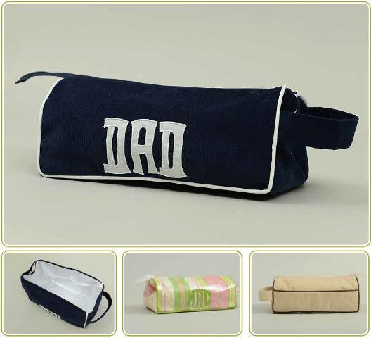 Monogrammed Boxy Travel Case