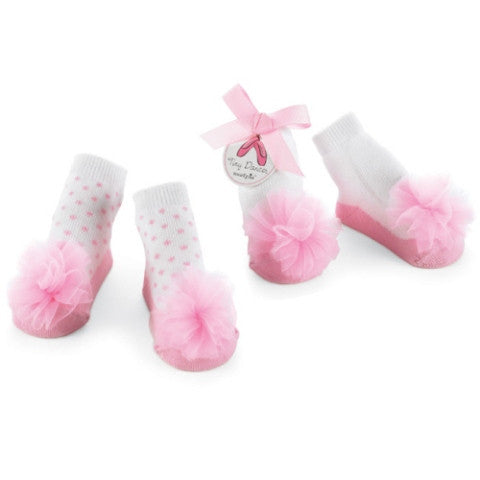 Tiny Dancer Chiffon Ruffle Sock Set